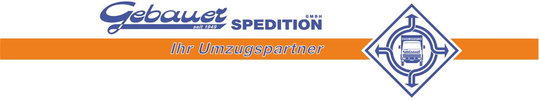 Gebauer Spedition - Ihr Umzugspartner
